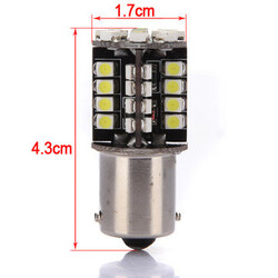 Interior Bulb 1156 BA15S SMD Car Pure LED Tail Brake