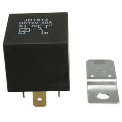 AMP Open 4 Pin Contact Relay Car Boat 30A 12V