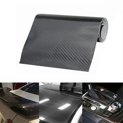 Carbon Fiber Vinyl Film Gloss Wrap Decal Car Sticker 5D Shinny