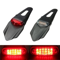 Light Universal Break Fenders Red LED lamp Motorcycle Rear Tail Stop
