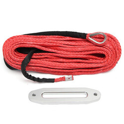 Cable Winch Hawse Anchor Rope Fairlead Synthetic Red