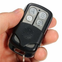 Gate Garage Door Cloning Universal Remote Control Key Fob MHz