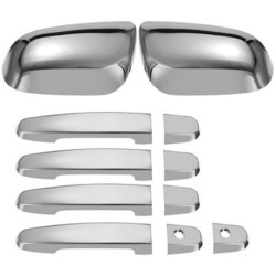 Door Handle Cover Trim Side Mirror Car Chrome Toyota Corolla