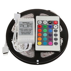 Smd Led Strip Light 24key 5m Remote Controller Rgb