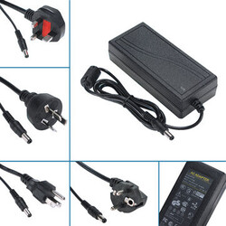 6A DC 12V LED Strip Light Charger Power Supply Adapter 72W