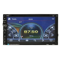 Bluetooth Stereo DVD Player Touchscreen Double 2 DIN Radio inch Car GPS Navigation CD