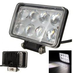 SUV Jeep Offroad Truck work Lamp LED Spot Beam Working Light 24W