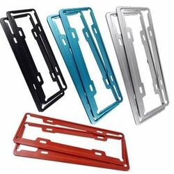 License Plate Frame Vehicle Car Stainless Steel Aluminum Aircraft