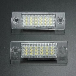 LED License Number Plate Light VW Caddy Golf Passat T5