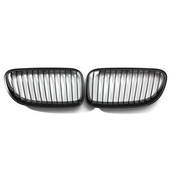 2DR Front Matte E92 E93 Grills 3-Series Kidney Grille Black for BMW LCI