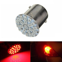 Side Indicator Light Red LED SMD Side Light BA15S P21W Bulb Tail