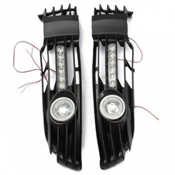 VW Passat Front Lower Grille Bumper Fog Light with LED DRL