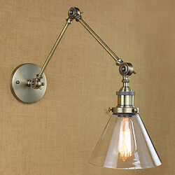 Glass Arm Plating Hotel Wall Lamp Lighting