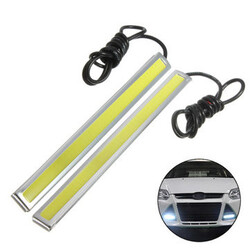 Auto 12V LED COB Car DRL Driving Daytime Running Lamp 5W