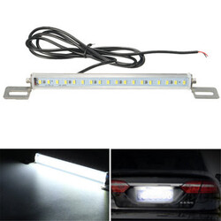 18 SMD Universal Car Light White Reverse Back Up LED License Plate 12V