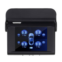 Pressure Monitor System Solar Energy TPMS Power Auto Sensors Type 4 External