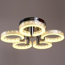 Chandelier Lights Chrome Finish Led Acrylic