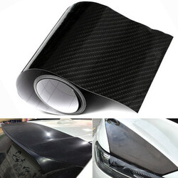 Car Sticker Carbon Fiber Vinyl Film Shinny Decal Wrap Gloss