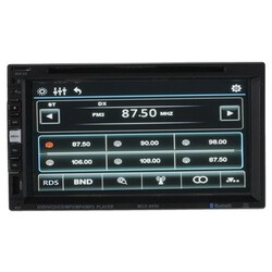 Inch Touch Screen 2 Din Car Player with Bluetooth Function Car DVD Player