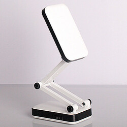 Old 2w Rechargeable Table Desk Lamp Eye Led White Light Reading