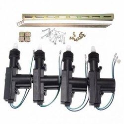 Universal Car Truck Motor Power Door Lock Actuator Auto Heavy Duty Wires 4X