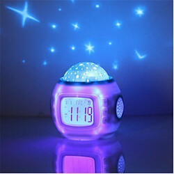 Calendar Clock Star Alarm Starry Projector Digital Sky Music