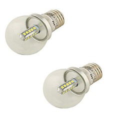 E27 Lamp Smd2835 Bulb Light 2pcs 360lm