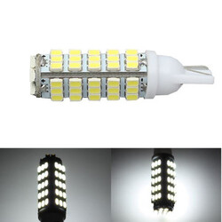 W5W Interior Reading Light Lamp T10 Side Wedge LED Car 68SMD Marker Bulb License Plate Light