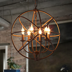 Room Black American Country Chandelier Lights