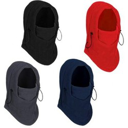 Fleece Thermal Bicycle Motorcycle Racing Face Mask Neck Helmet Balaclava Hat Ski Cap Hood