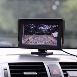 Kit Screen 4.3inch LCD Car Rear View Monitor VCR DVD Reverse Camera