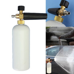 Car Wash Bottle Washer Snow Foam Lance Adjustable Sprayer Soap