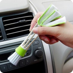 Panel Double Head Car Air-Condition Cleaning Tool Instrument Brush Air