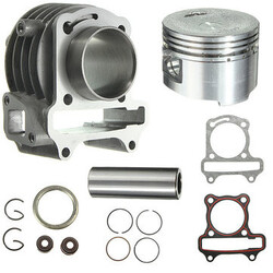 Bore Scooter Moped Big Cylinder 139QMB 80cc GY6 50cc Kit Rings