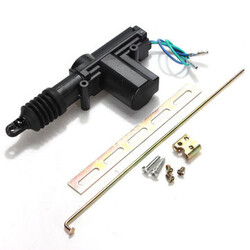 Power Door Lock Actuator 12V Car Auto Universal Heavy Duty Plastic