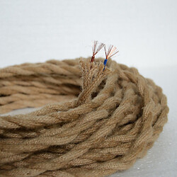 Vintage 100 Cord Wire Accessories Rope Antique Hemp Pendant Light