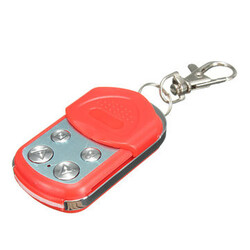 433MHZ Gate Door Electric Red Remote Control Key Fob Cloning Garage 4 Buttons