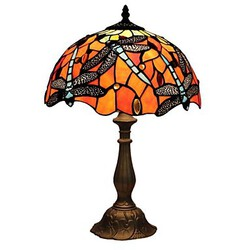 Use Feature On/off Table Lamps 60w Protection Tiffany