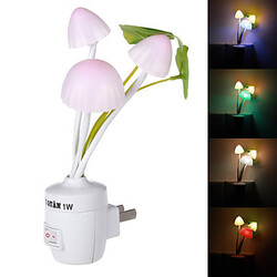 Light Colorful Style Us Plug Induction Mushroom Switch