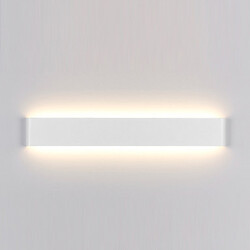 White Led 24w Indoor Wall Sconces Black Modern Light