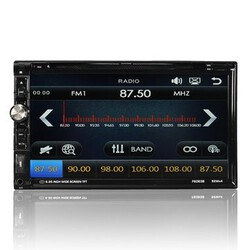 Touch Screen In-Dash MP5 MP3 2 Din CD FM Aux Input 7 Inch Car Stereo DVD Player