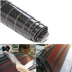 Vinyl Wrap Film Decals Stickers Gloss Carbon Fiber Car