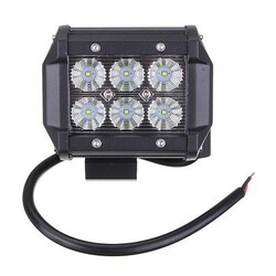 Spot Lamp Floodlight Car 18W 6LED Work Light Bright White