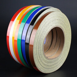 Colors Motorcycle Bike Decal 50M Reflective Sticker Tire Wheel Tyre