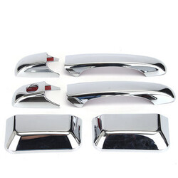 Jeep Grand Cherokee Country Chrome Door Handle Cover Trim Chrysler