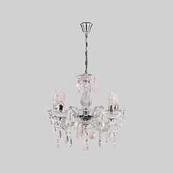 Candle Light Chrome Ceiling Lamp Acrylic Fixture Pendant New Chandelier
