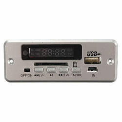 Decoder SD MMC Card FM Radio USB Car Kit Mp3 LED Remote Audio 5V Wireless TF