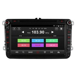 AUX In Radio Player Volkswagen Car GPS Navigation DVD Quad Core Ownice C300 Video Skoda Seat