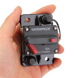 Switch 12V Manual Inline Reset Waterproof Circuit Breaker Auto