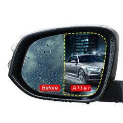 Window Rear View Mirror Nano Anti Protective Film Water Coating Anti Fog Mist Car Film
